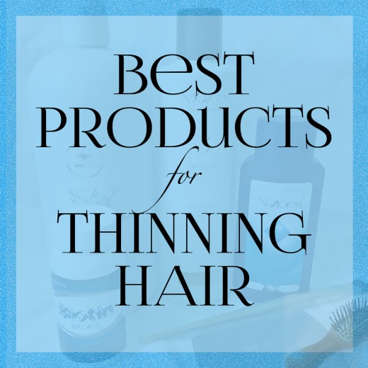 Find out which products can help thinning hair look its best.