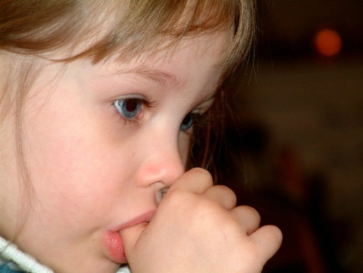Children seem to suck their thumbs more when they are tired or frustrated and it is a good way for them to soothe themselves to sleep.