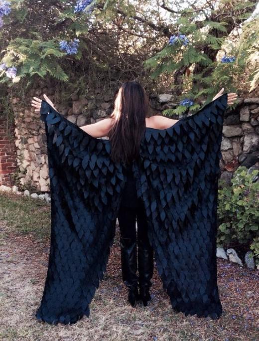 Maleficent Dark Fairy Wings for Halloween or Dress-Up ...
