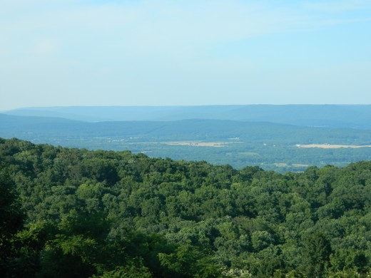 Scenic view of Monte Sano