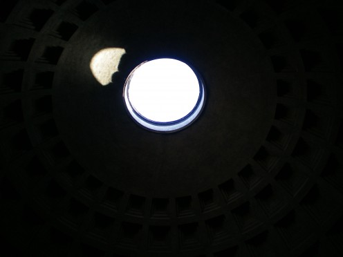 The roof of the Pantheon, Rome (c) A. Harrison