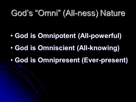 The All-ness of God!!