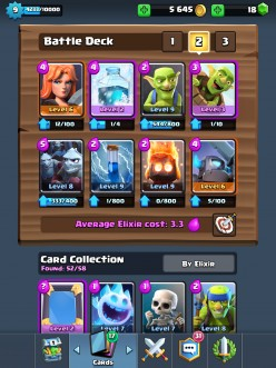 Clash Royale Goblin Barrel Freeze Deck