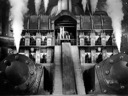 The Heart Machine from the movie Metropolis.