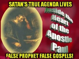 Many diehard Christians question Paul, now - despite that he is credited with writing over half of the New Testament scriptures. What if Jesus & Paul's message was the SAME; and the four 'saved' gospels (out of HUNDREDS destroyed) were manipulations?