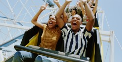Why is it more fun riding a rollercoaster with another person than by yourself?