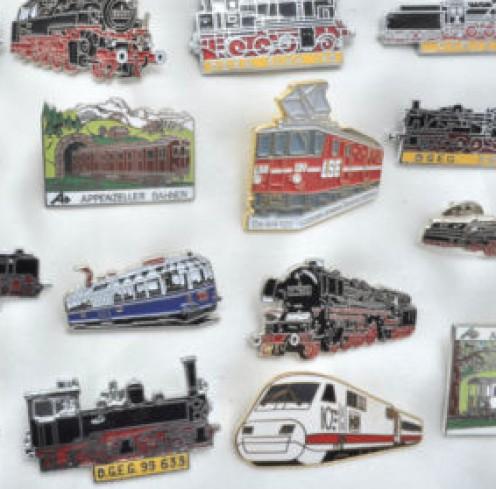 Train Pins