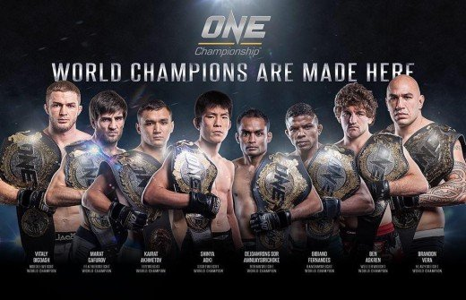 UFC's rival in the Asian market, One Championship has carved a place for itself in martial arts for its diverse set of fighters and techniques, as well as the common brutality