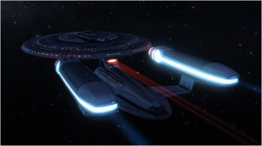 NCC-1701-C Warp Speed!