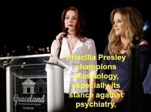 Priscilla remains in the church, but it's rumored Lisa Marie has left.