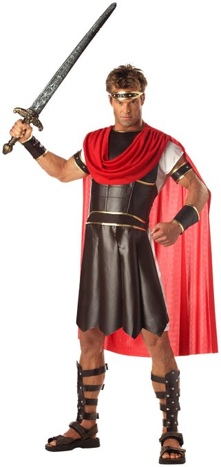 Herc isn't just powerful with his godly strength, he's also witty and smart and capable of using his brains when needed. Dress up as him for Halloween and impress people with this costume