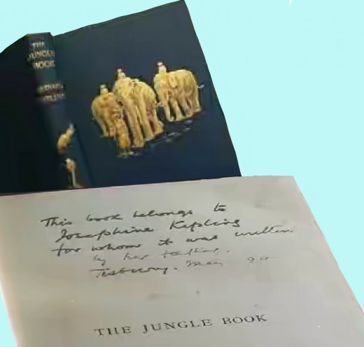 The first edition with the author's own handwriting.