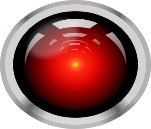 HAL 9000 from film 2001: A Space Odyssey