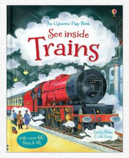 See Inside Trains Book