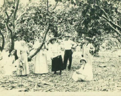 Five generations of Caldwells