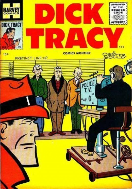 A man who looked the spitting image of Dick Tracy came toward me on the sidewalk