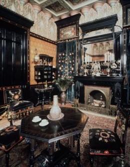 The Moorish Smoking Room of the 1864 John D. Rockefeller House, Brooklyn Museum of Art