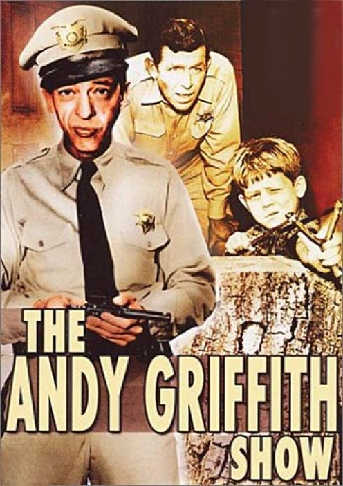 A promo graphic that spotlighted Don Knotts as Barney Fife