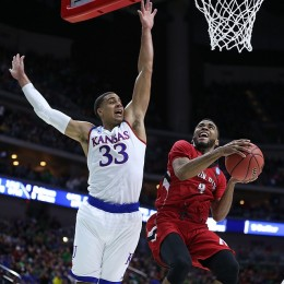 Landen Lucas has established himself as the man in the middle for the Jayhawks.