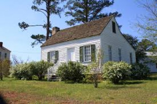 Col. William Travis' home in Perdue Hill, Al.