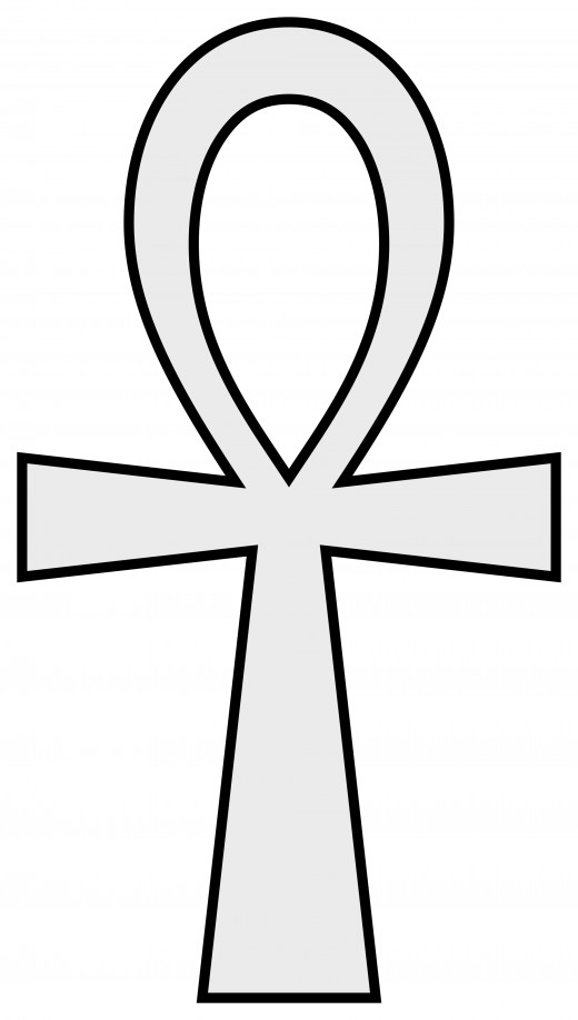 Ankh, ancient Egyptian symbol representing the key to the soul and the Hearth Chakra.