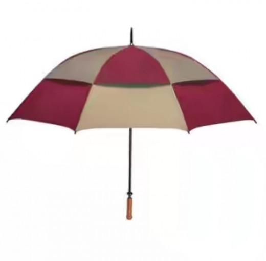Vented wind proof umbrella
