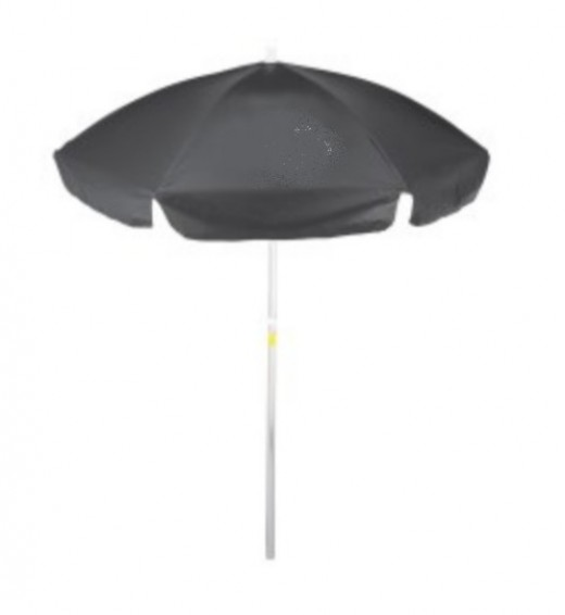Stationary umbrellas usually have a long handle for easy and better placement