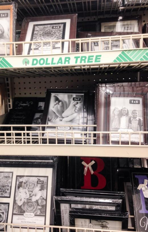Dollar Tree Frames