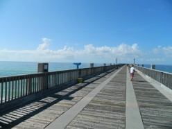 Day Eight Of Our First Ever RV Trip: Pensacola Pier and Beach