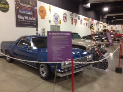 A couple of B.B. King's cars