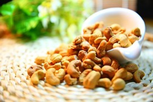Cashews can help you get ready for sleep