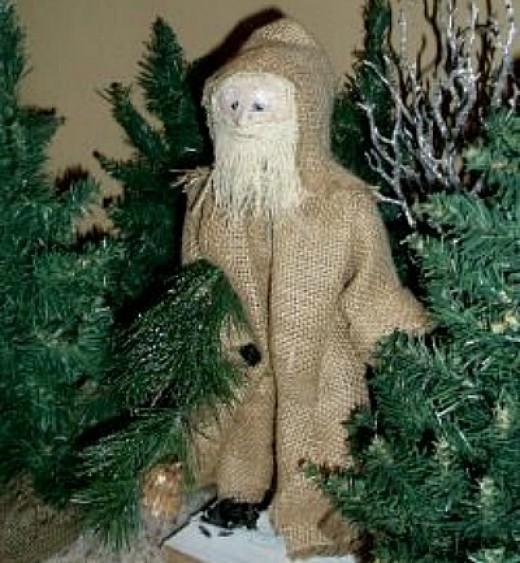 66 Rustic Christmas Crafts | FeltMagnet