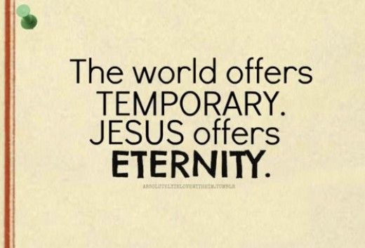 The World is Temporary!