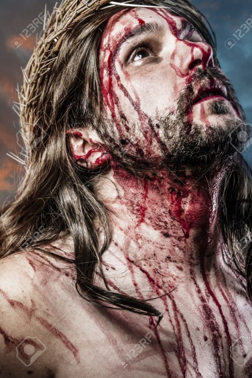 Jesus is THE Prime Example of shedding His Perfect blood on the cross to wash us of our sins