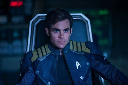 Chris Pine and Captain Kirk