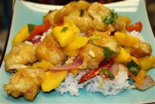 Authentic Mango Chicken