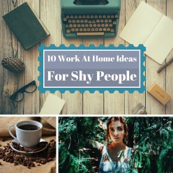 10 Work At Home Ideas For Shy People!