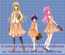 6 Cons Of Wearing School Uniforms