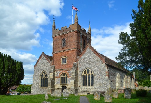Church of All Saints, Odiham, Hampshire, England.
