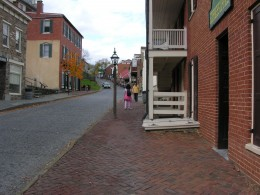The historic section of Harpers Ferry