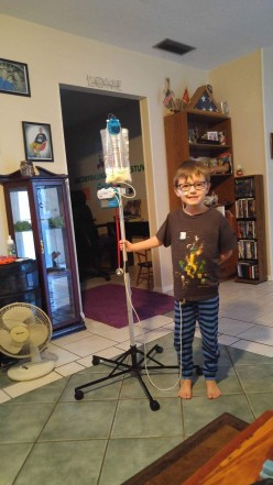 Continuing Our Journey....My Six Year Old Grandson's Fight to Survive--A Pictorial Journal