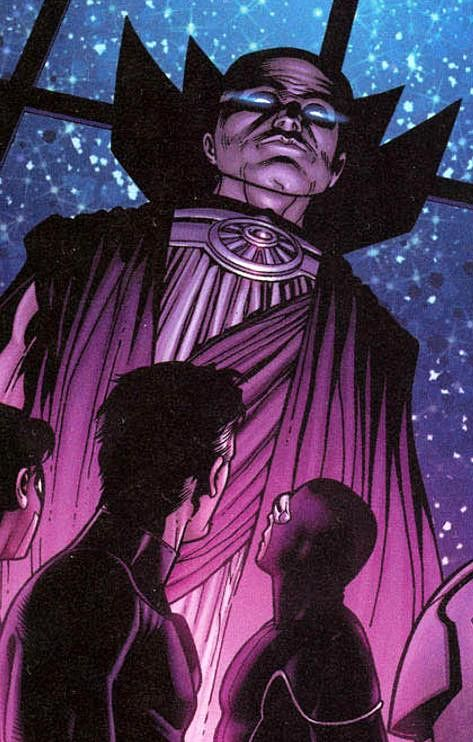 Uatu the Watcher. Property of Marvel Comics.