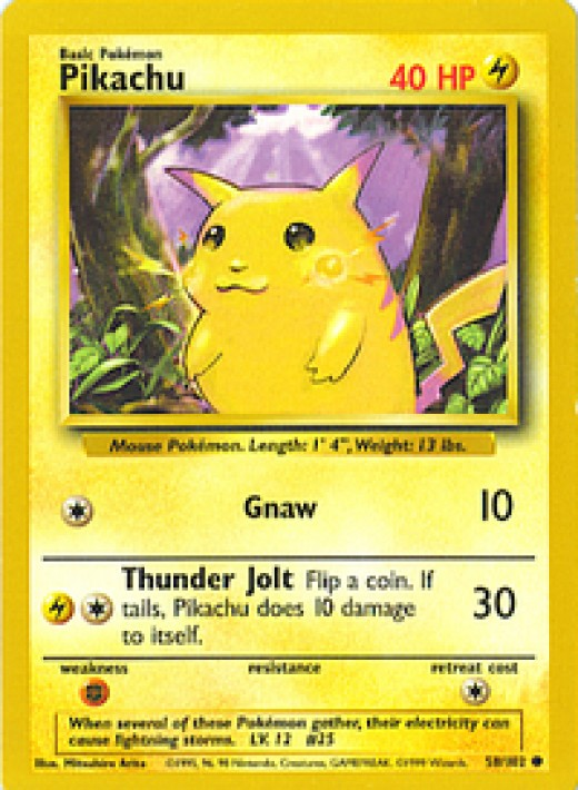 Pikachu really let himself go in this one