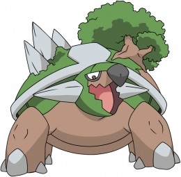 Torterra is probably my favorite Pokemon of all time