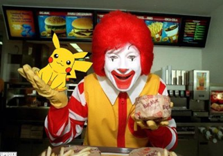 What will you choose at McDonalds? Pokeeggs or McBurgers?