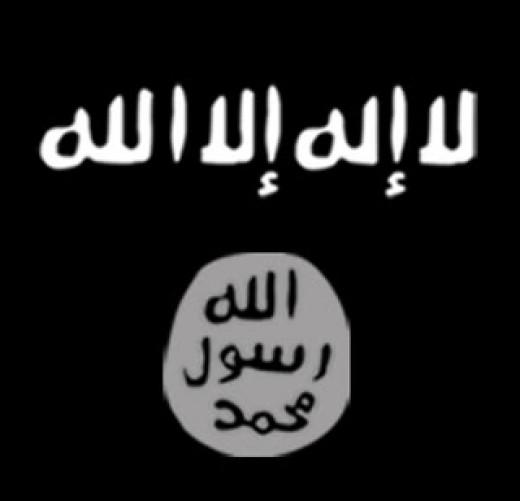 Islamic State flag.