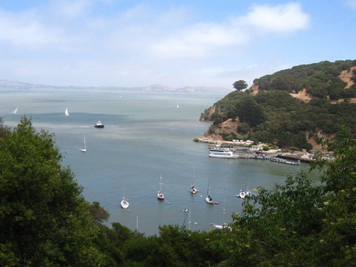 Get stunning views from Angel Island