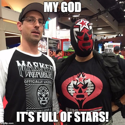 Behold the first ever meme featuring Kevin Kleinrock!