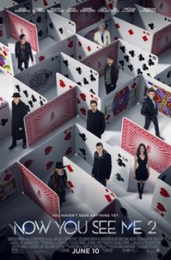 Now You See Me 2:A lot more magic and humor than the first.