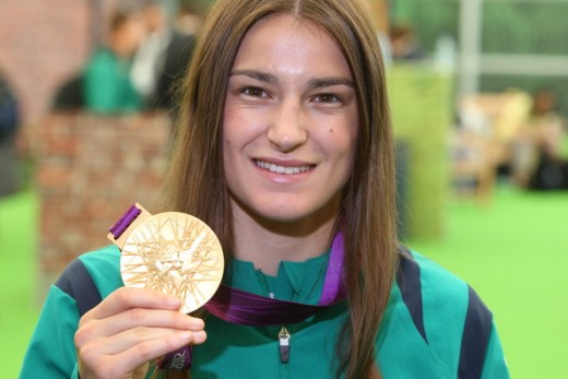 Born 1986, Katie Taylor is a boxing and football Olympic champion.